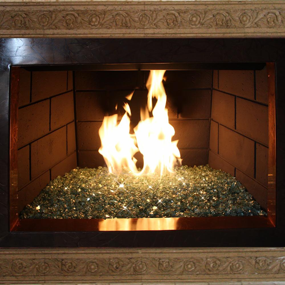 "18"" Stainless Steel Fireplace H-Burner Kit"